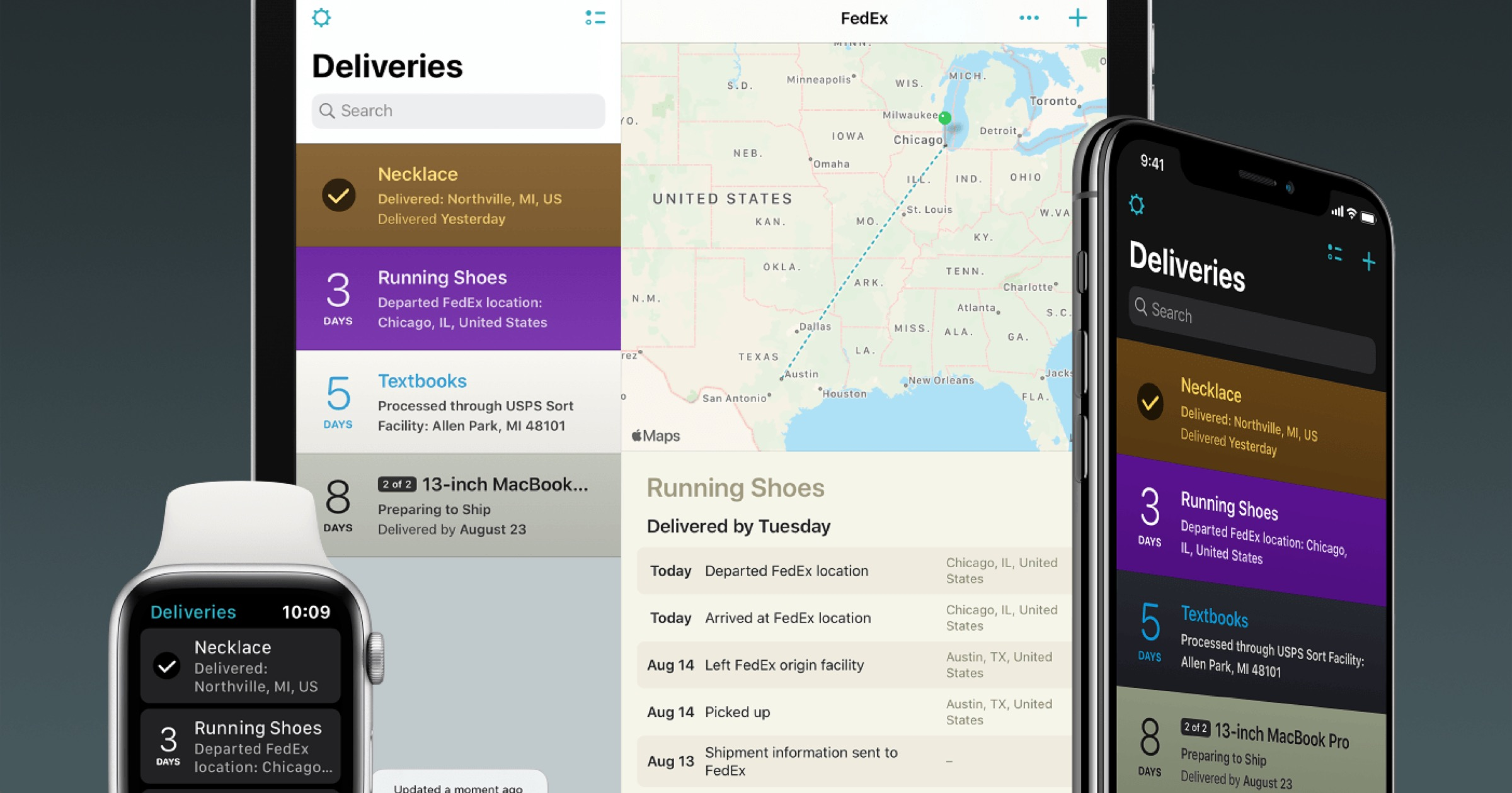 'Deliveries' Package Tracker Update Can Handle Multiple Clipboard Items