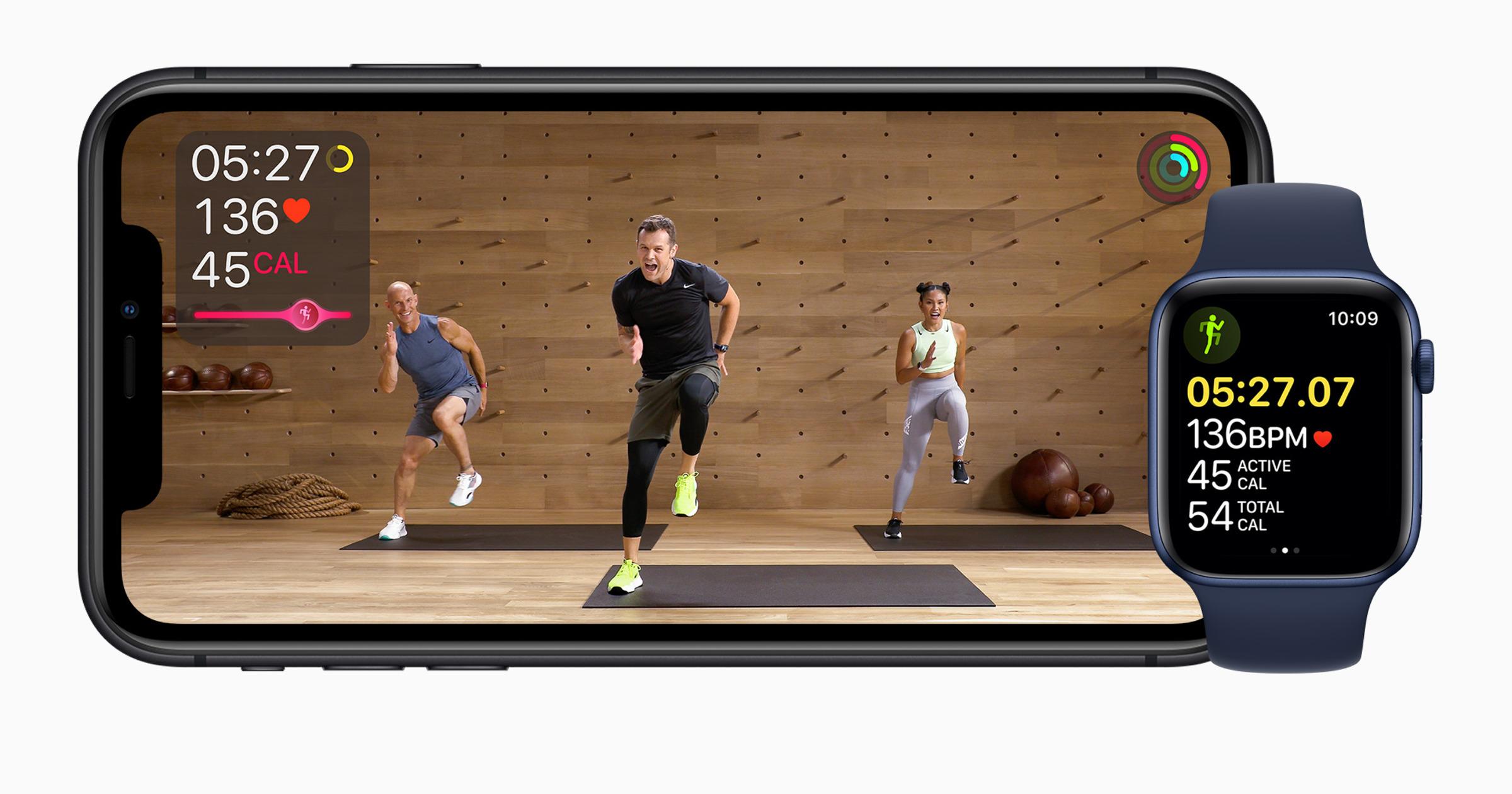 Fitness+ Apple Watch iPhone