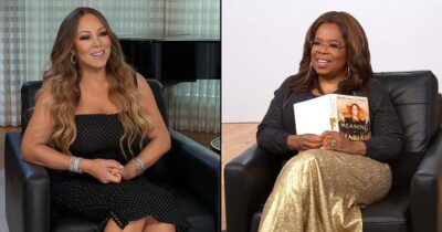 Mariah Carey and oprah Winfrey