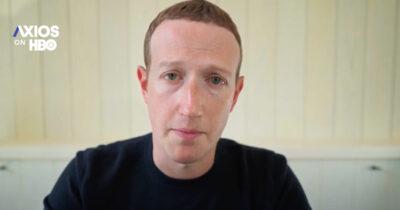 Mark Zuckerberg interview on Axios on HBO