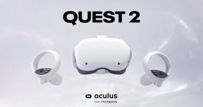 Oculus Quest 2 vr headset from Facebook
