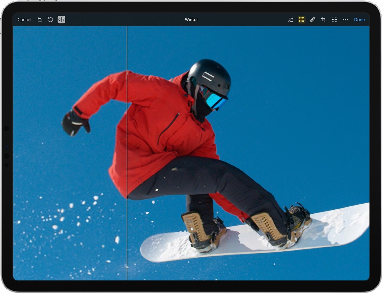 Pixelmator Photo 1.4 Brings ML Super Resolution to iPad