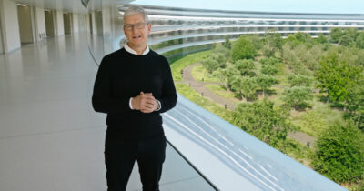 Tim Cook at Time Flies event