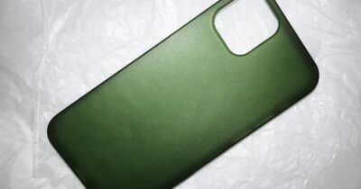 Totallee iPhone 12 case green