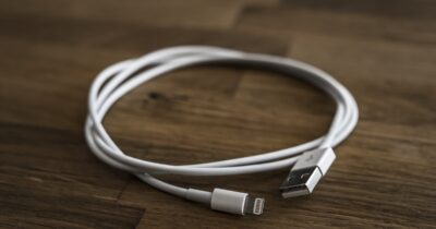 Lightning cable spy