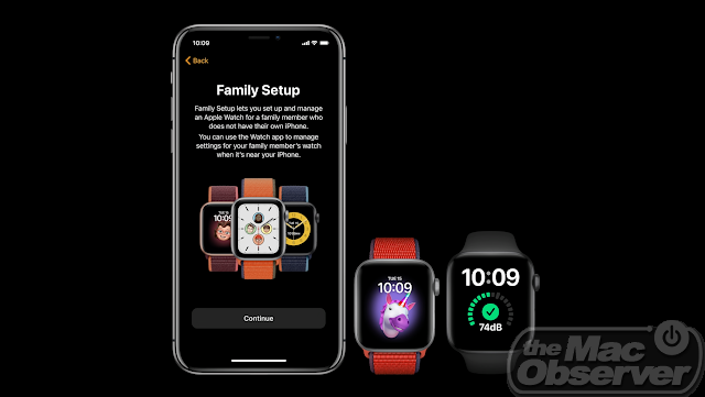 watchOS 7 Family Setup