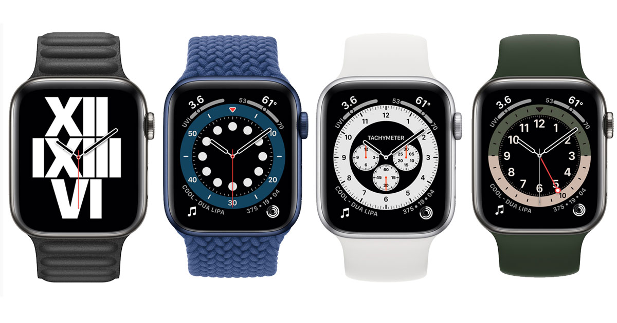 New Watch Faces in watchOS 7