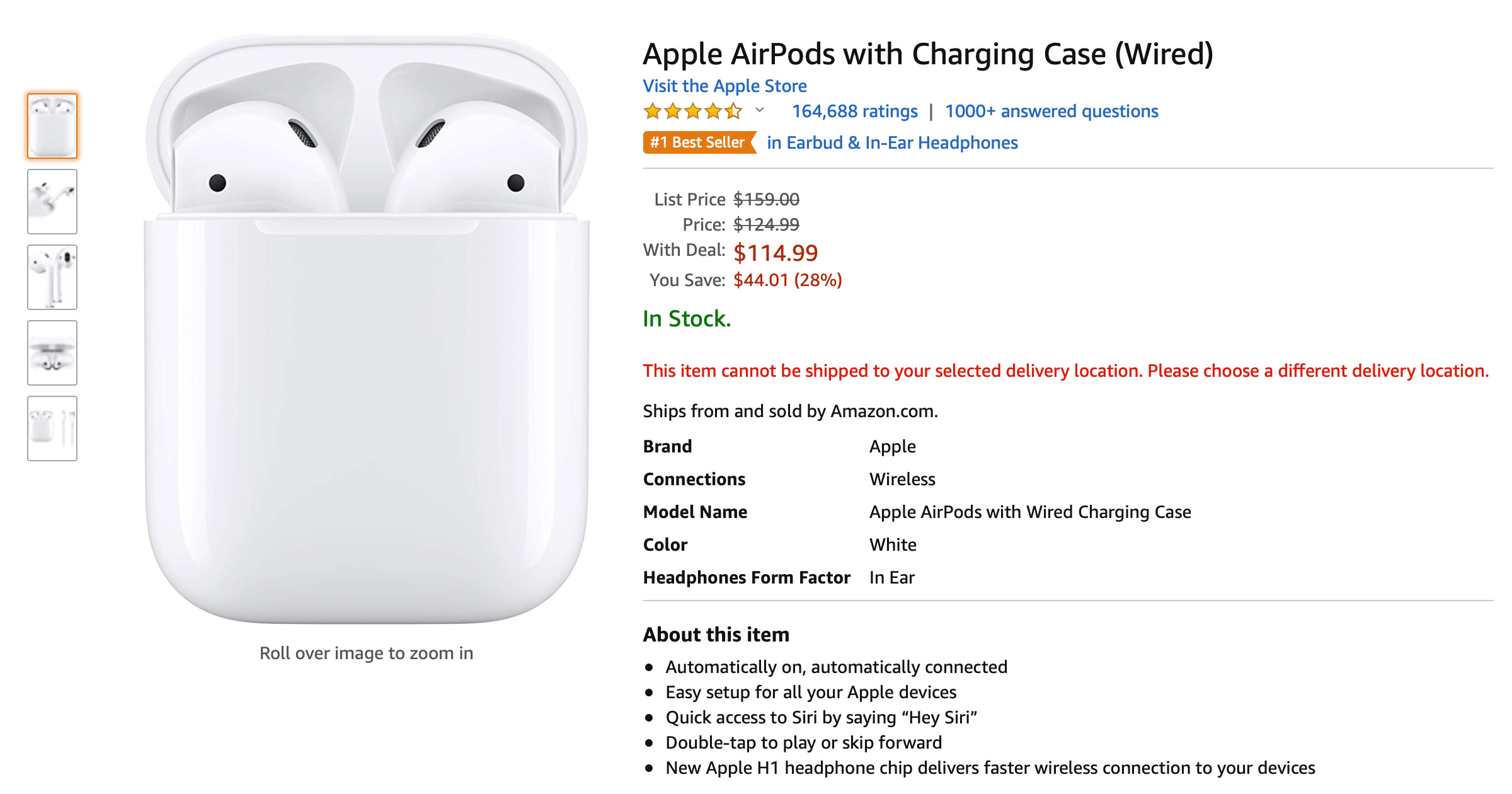 AirPods Amazon Prime Day deal