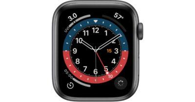 GMT watch face