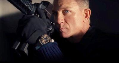 Daniel Craig as James Bond - NTTD
