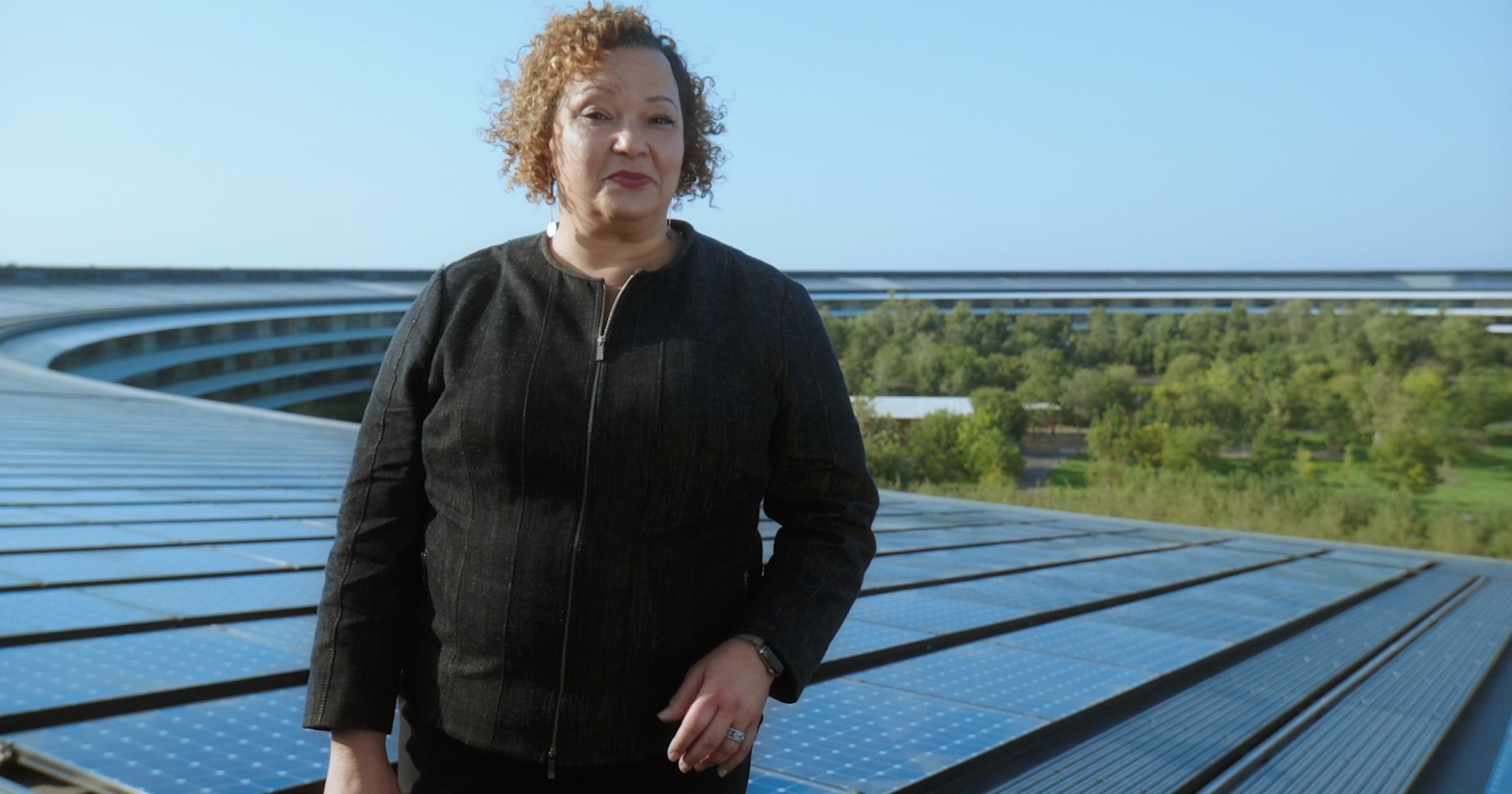 Lisa Jackson Apple environment solar panels