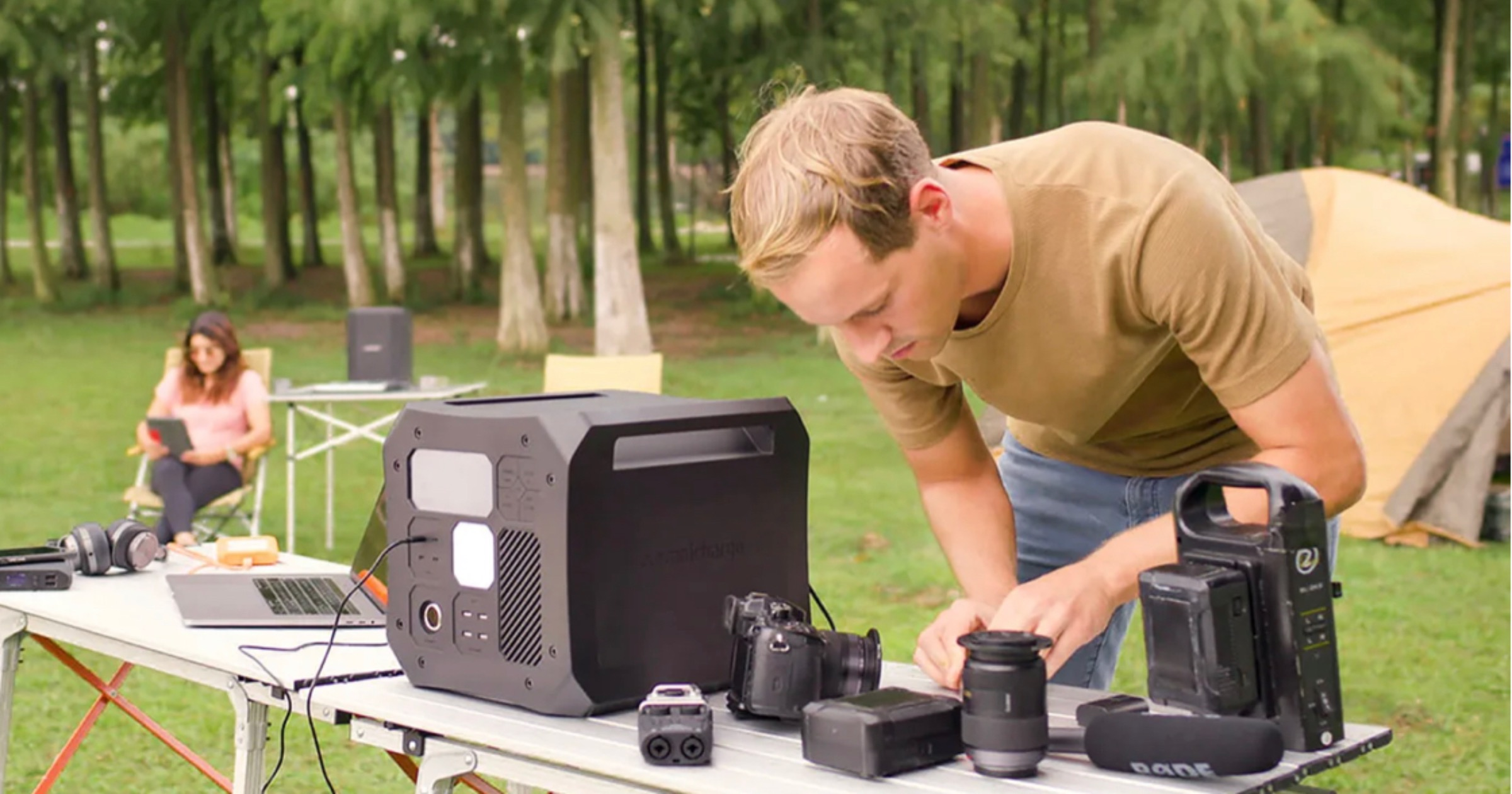 Charge Anything, Anywhere With the Omni Off-Grid