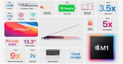Apple's M1 MacBook Air