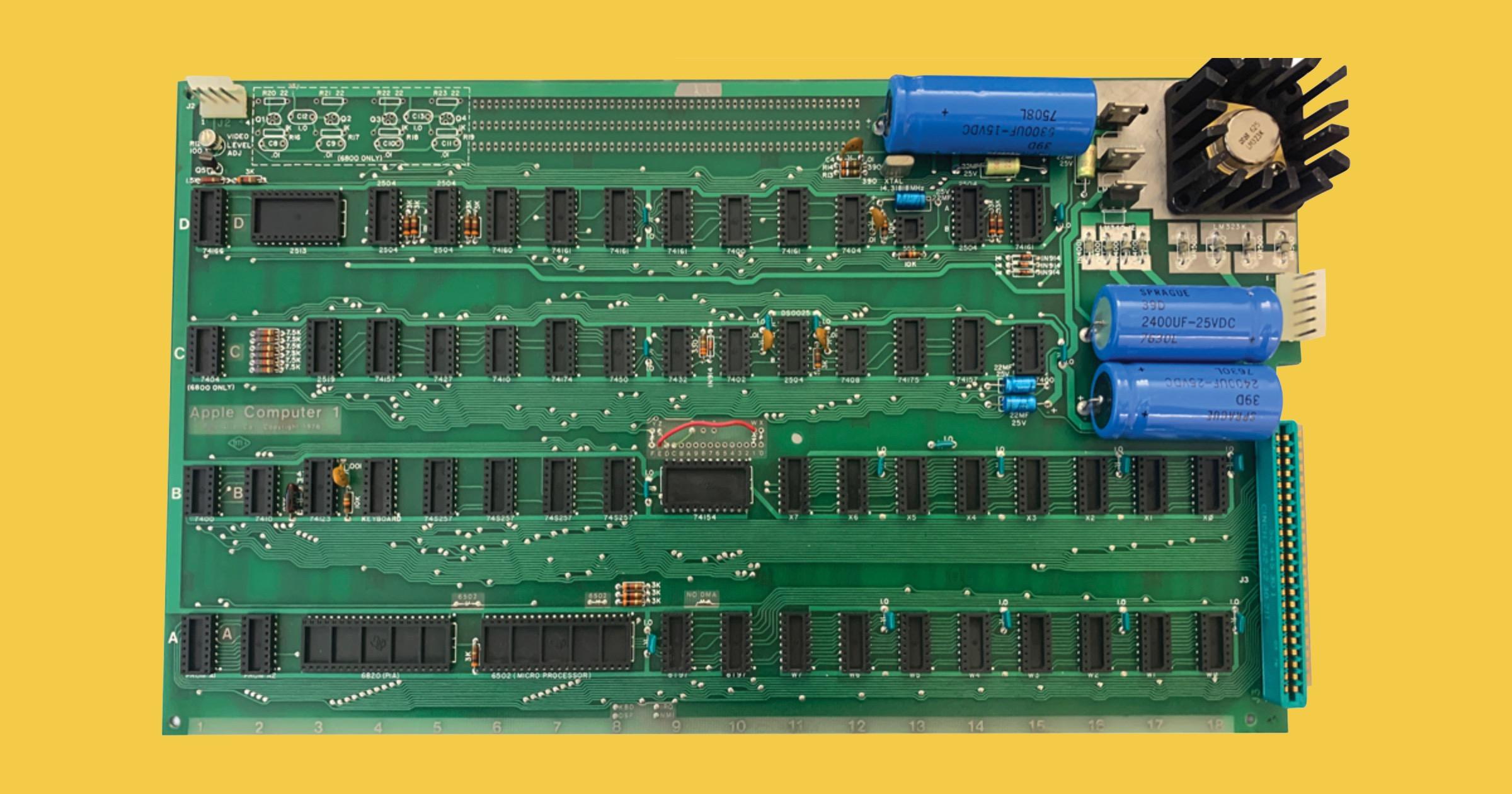 Apple I motherboard