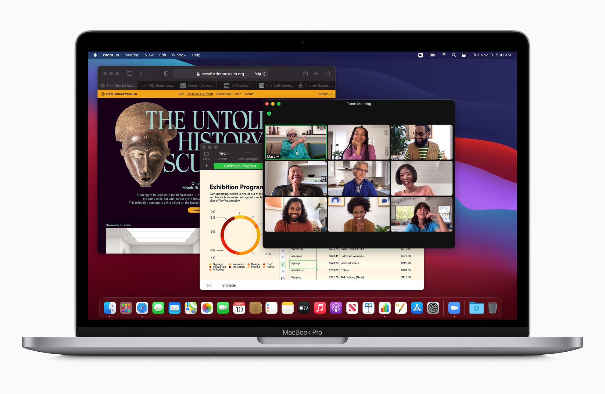 M1 MacBook Pro running macOS Big Sur.