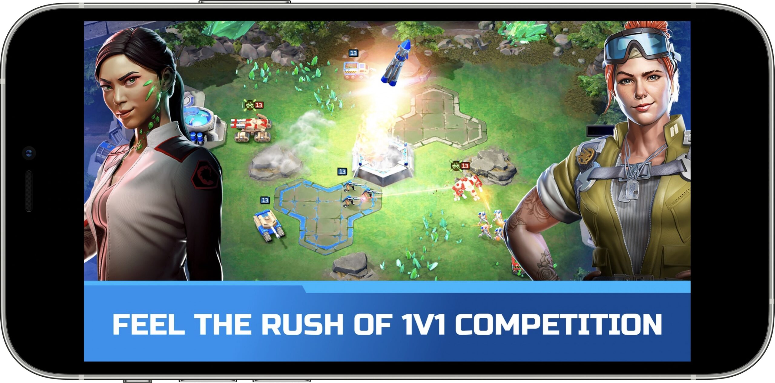 Command and conquer rivals PVP