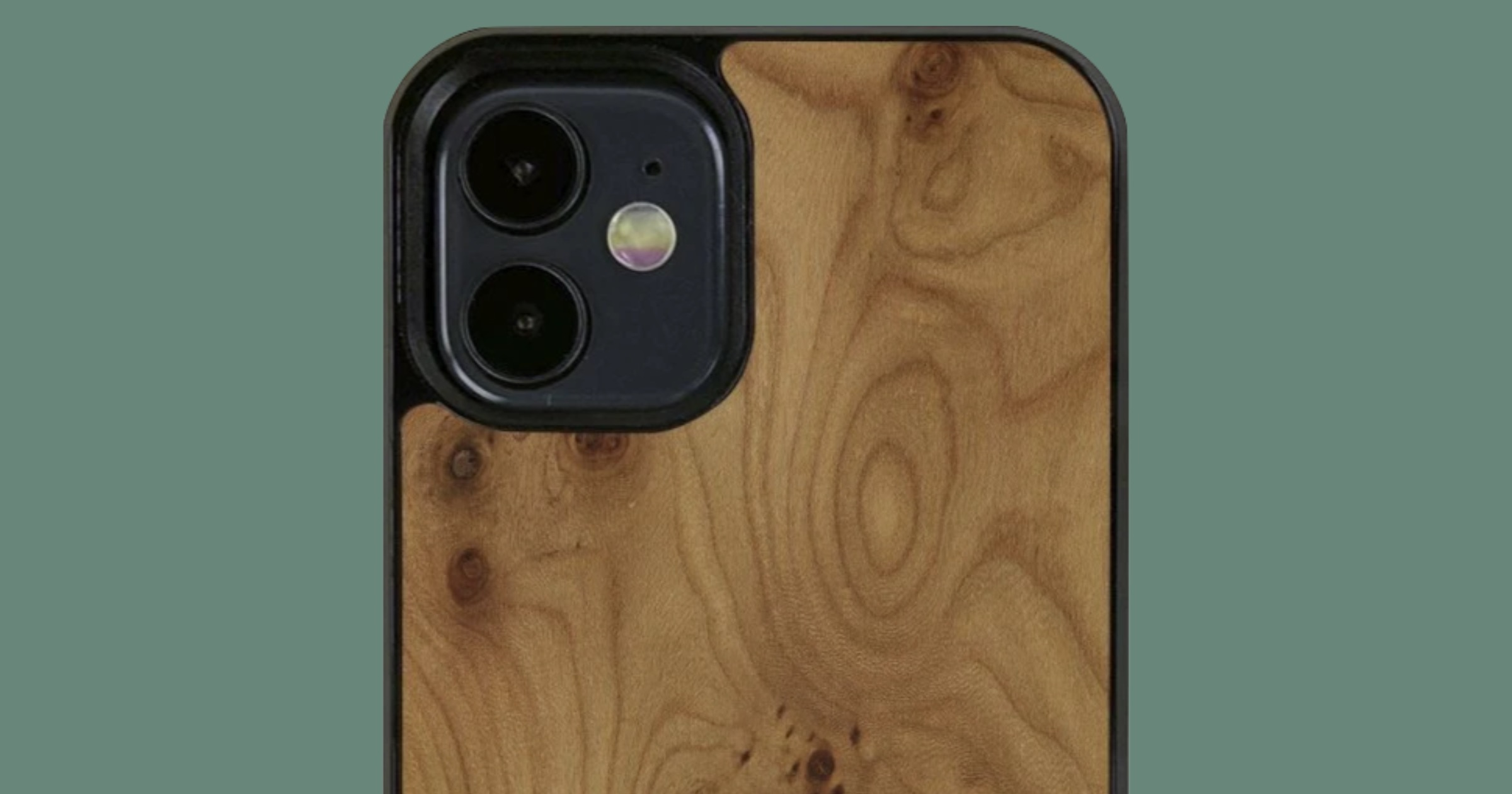 Cover-up iPhone 12 wood case