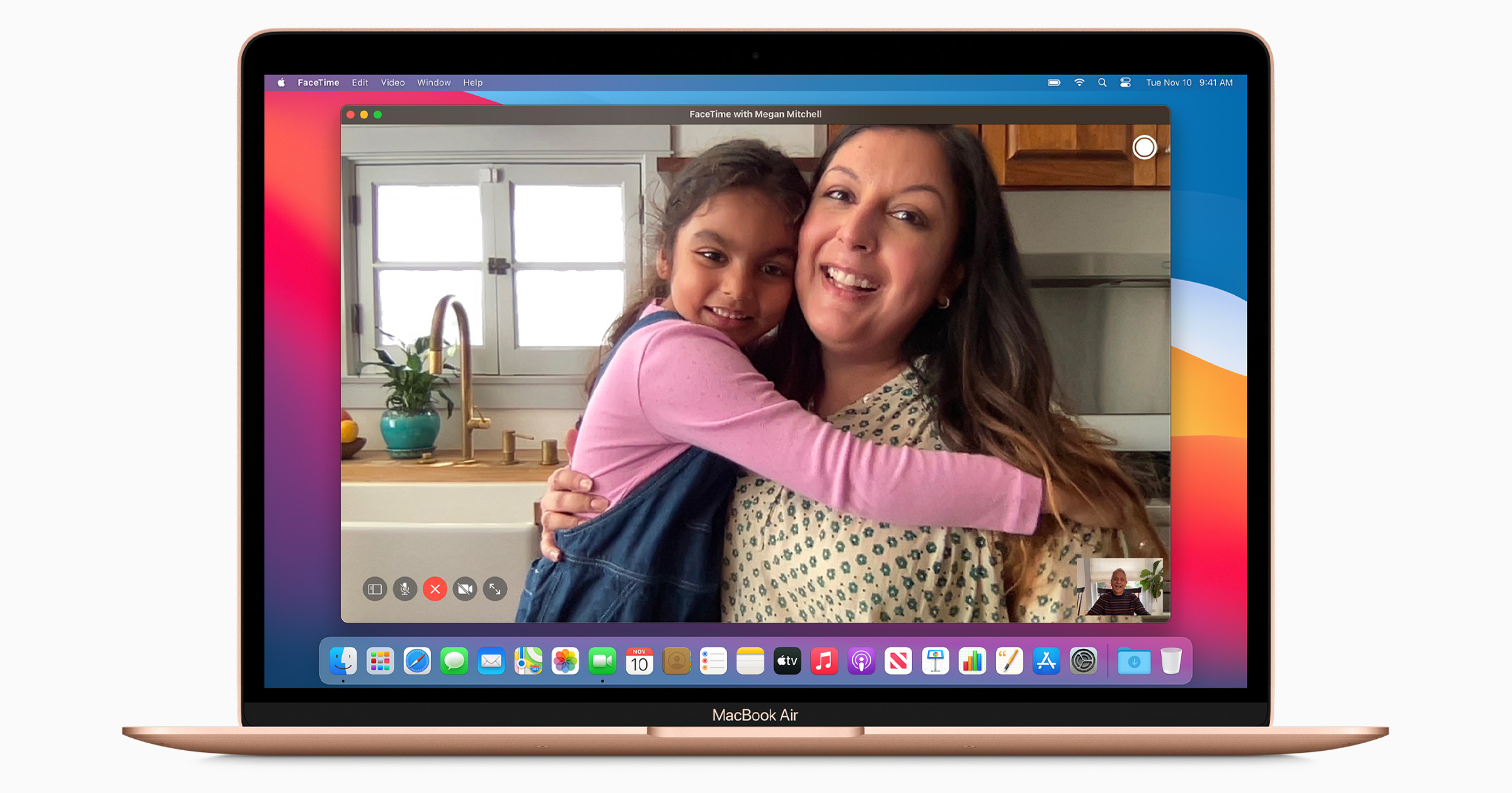 Gold MacBook Air M1