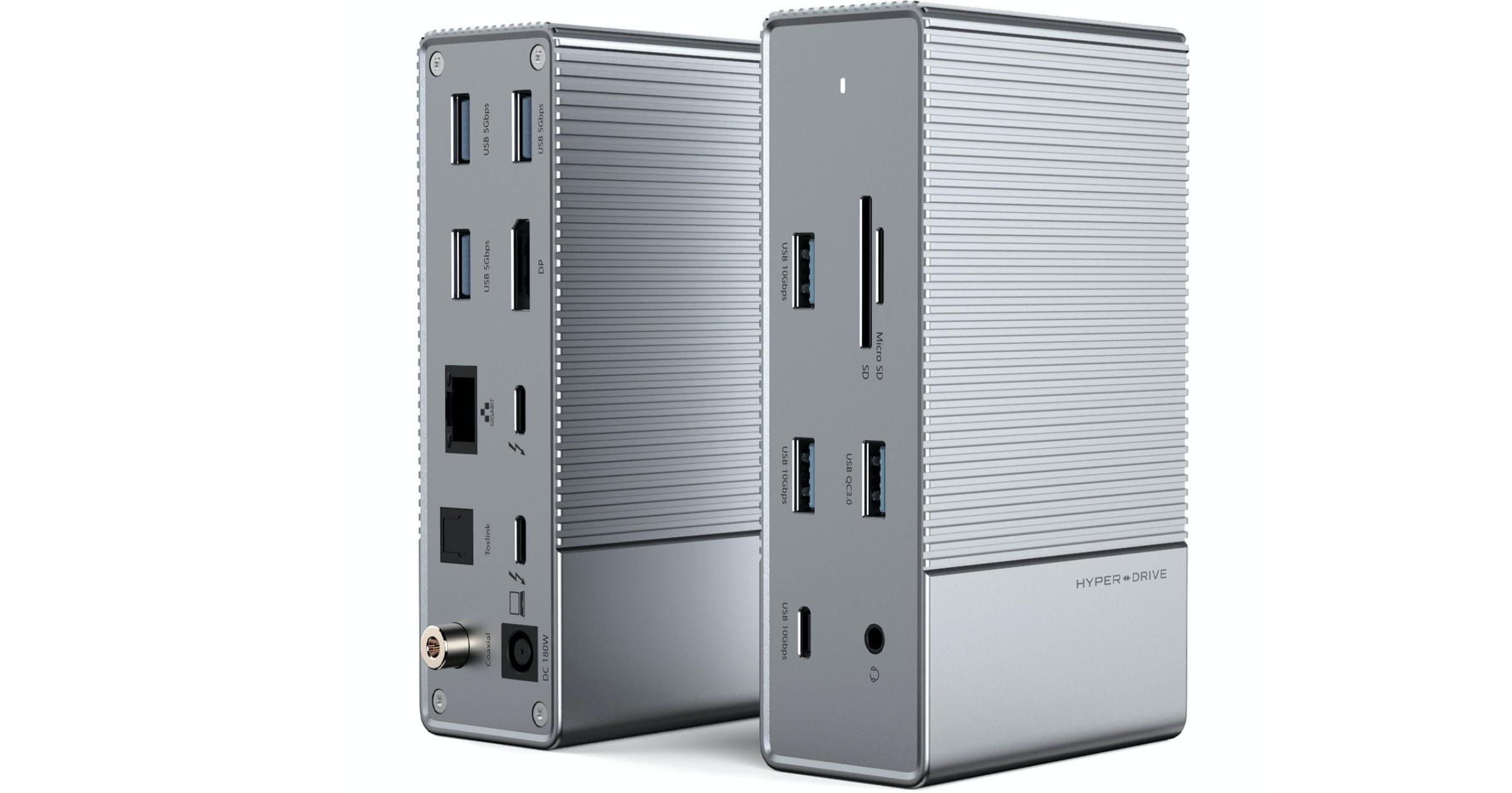 HyperDrive Gen 2 Thunderbolt 3 dock