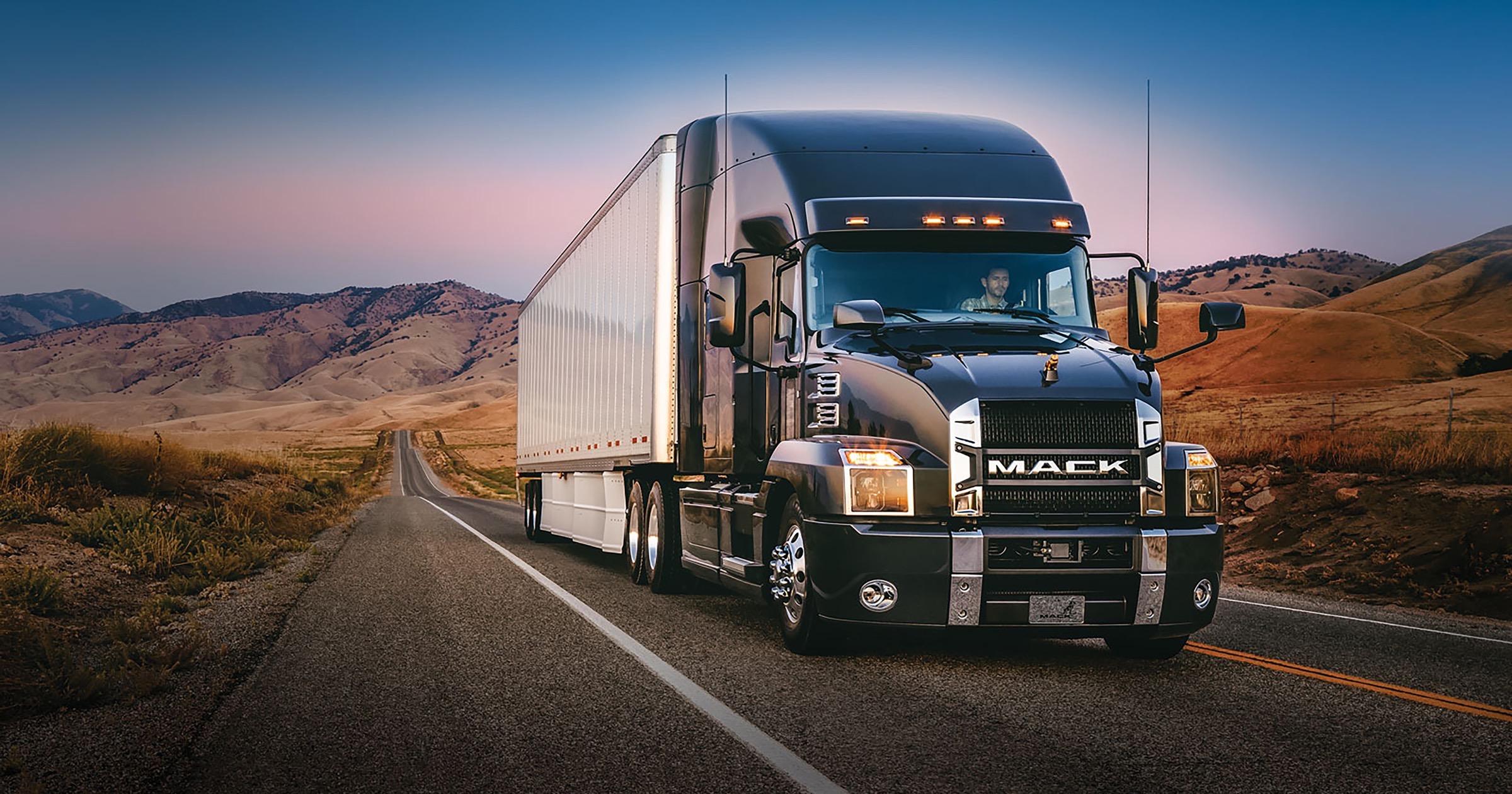 Mack truck anthem model