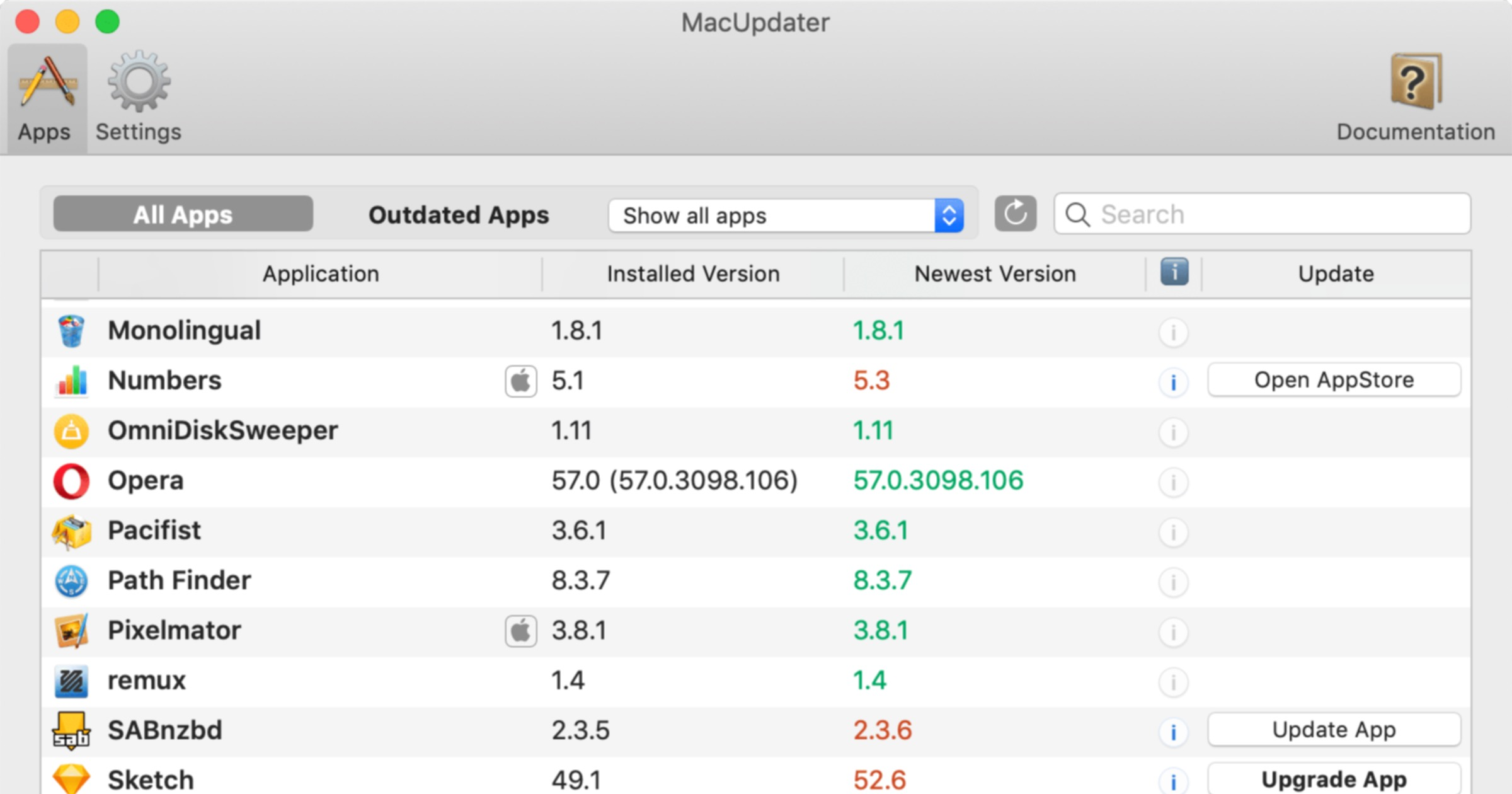 Keep All Your Mac Apps Updated With 'MacUpdater'