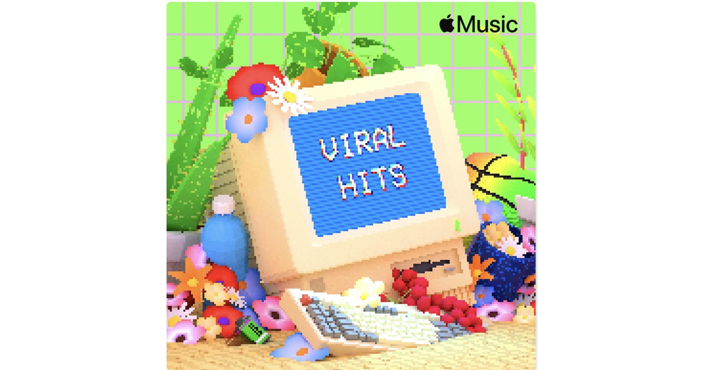 Viral Hits Apple Music playlist