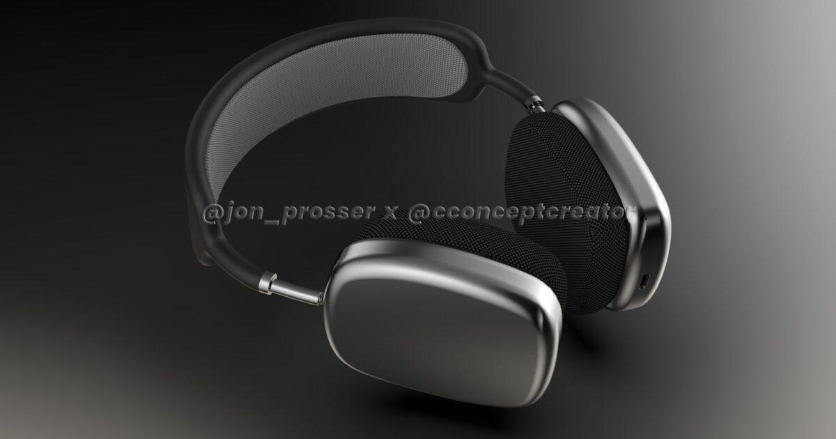 Concept Image of Apple AirPods Studio by Jon Prosser