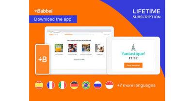 Babbel Language Learning Software