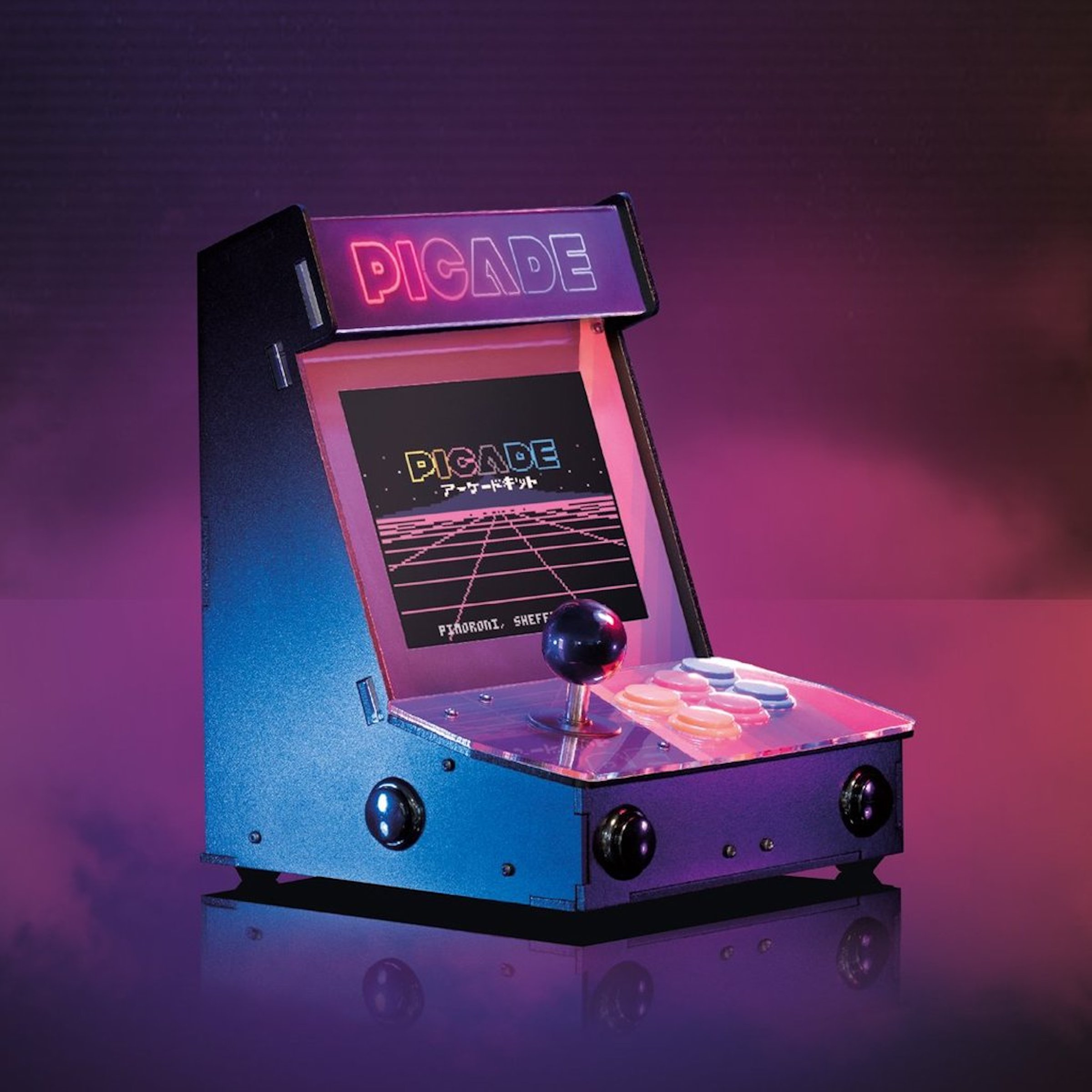 Pimoroni Picade Brings Raspberry Pi True Arcade Gaming