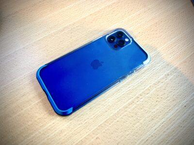 Raptic Air Blue Gradient iPhone 12 Pro Case