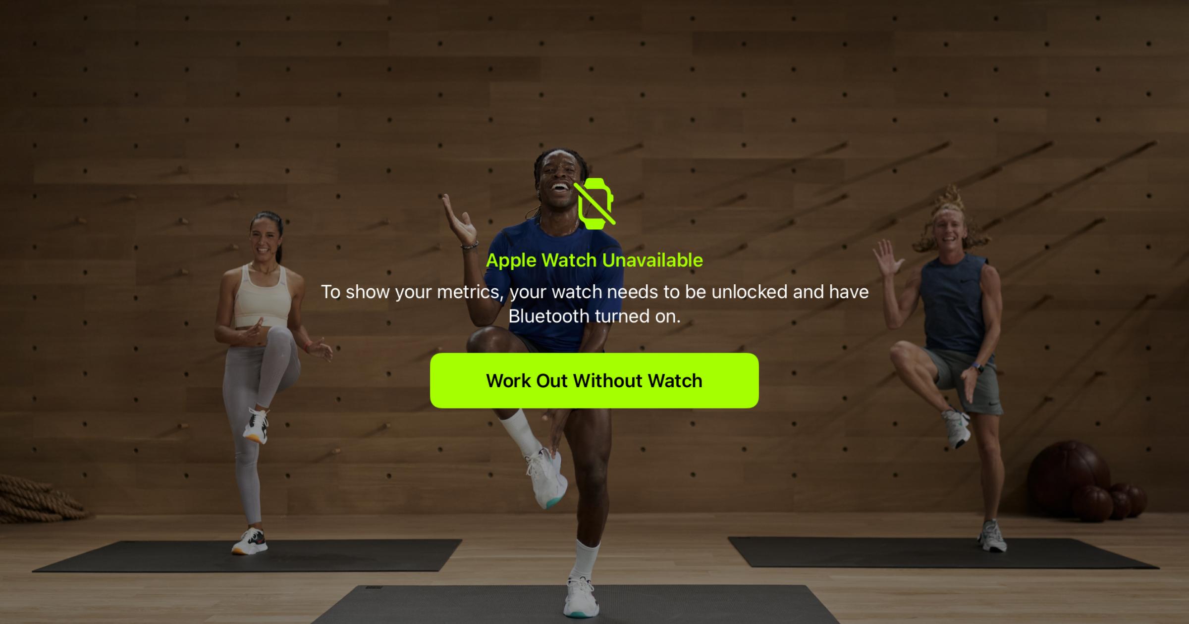 Apple Fitness+ iPad Apple Watch