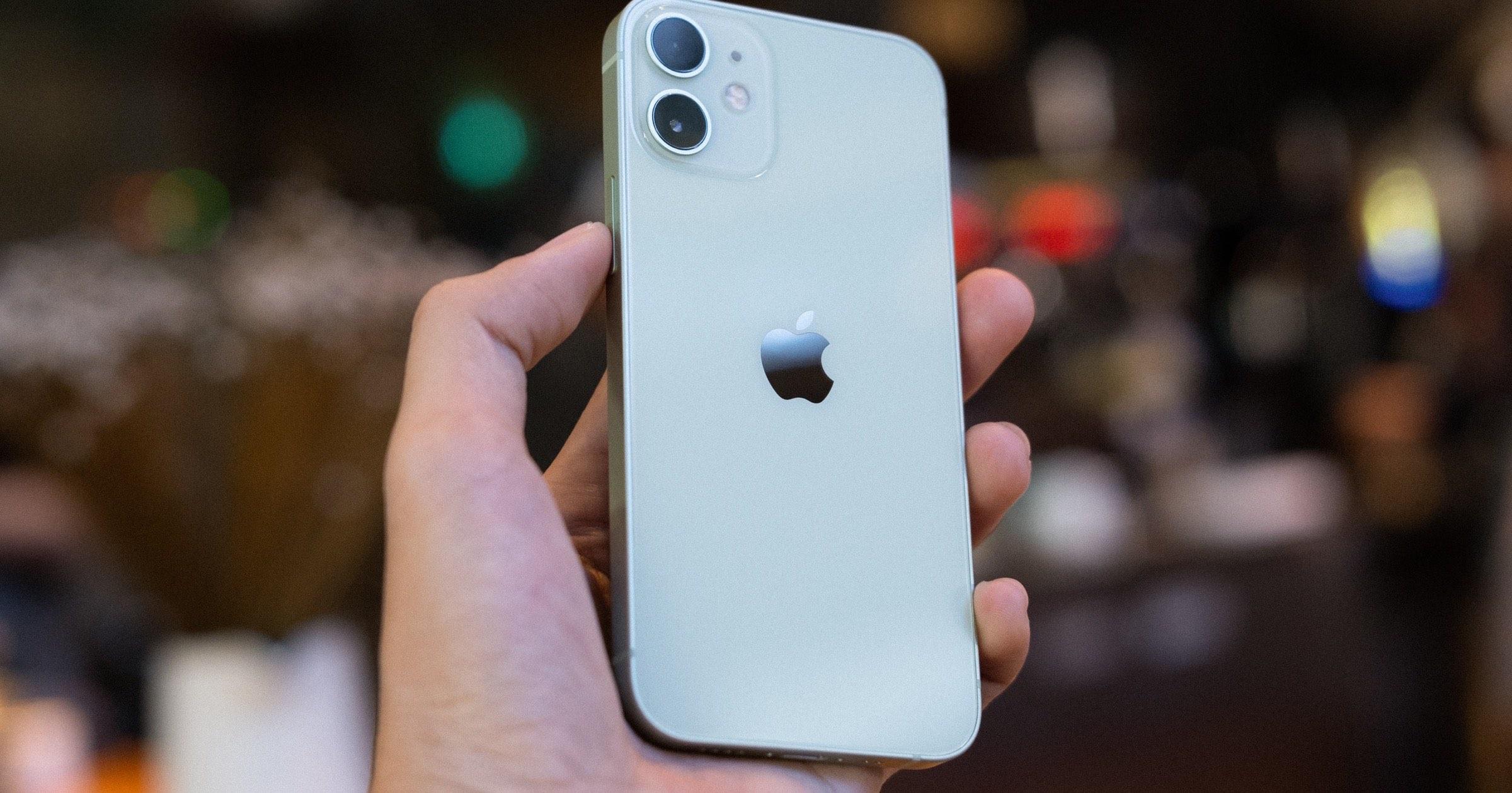 Green iPhone 12 mini