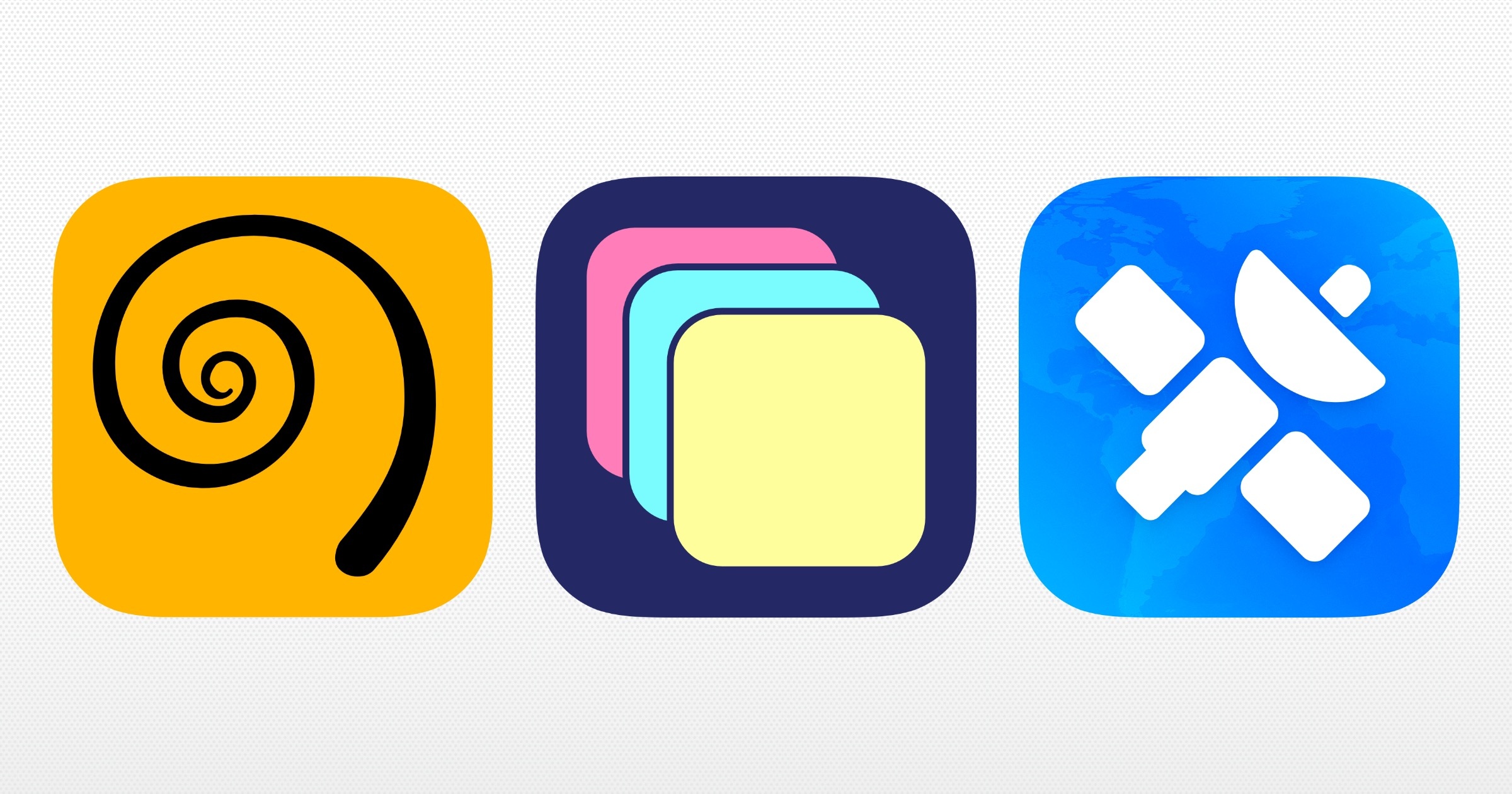 Icons of favorite 2020 apps