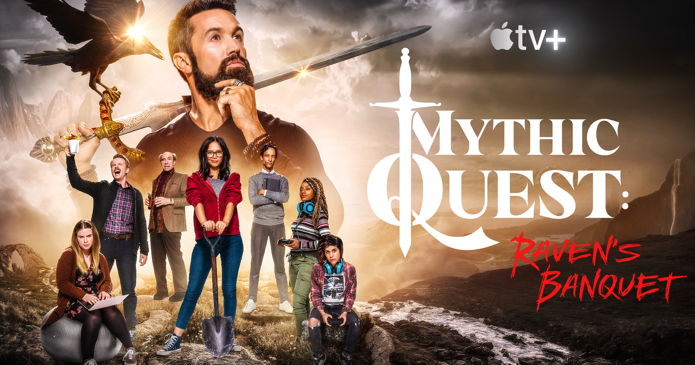 Mythic Quest Ravens Banquet on Apple TV+