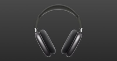 Space gray airpods max