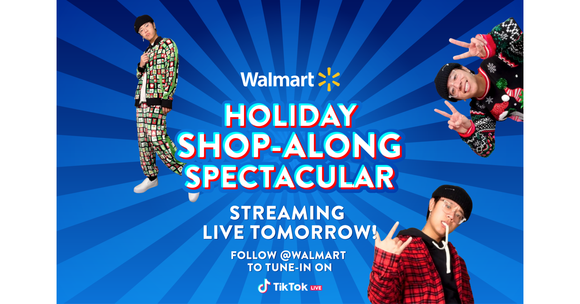Walmart TikTok shopping event