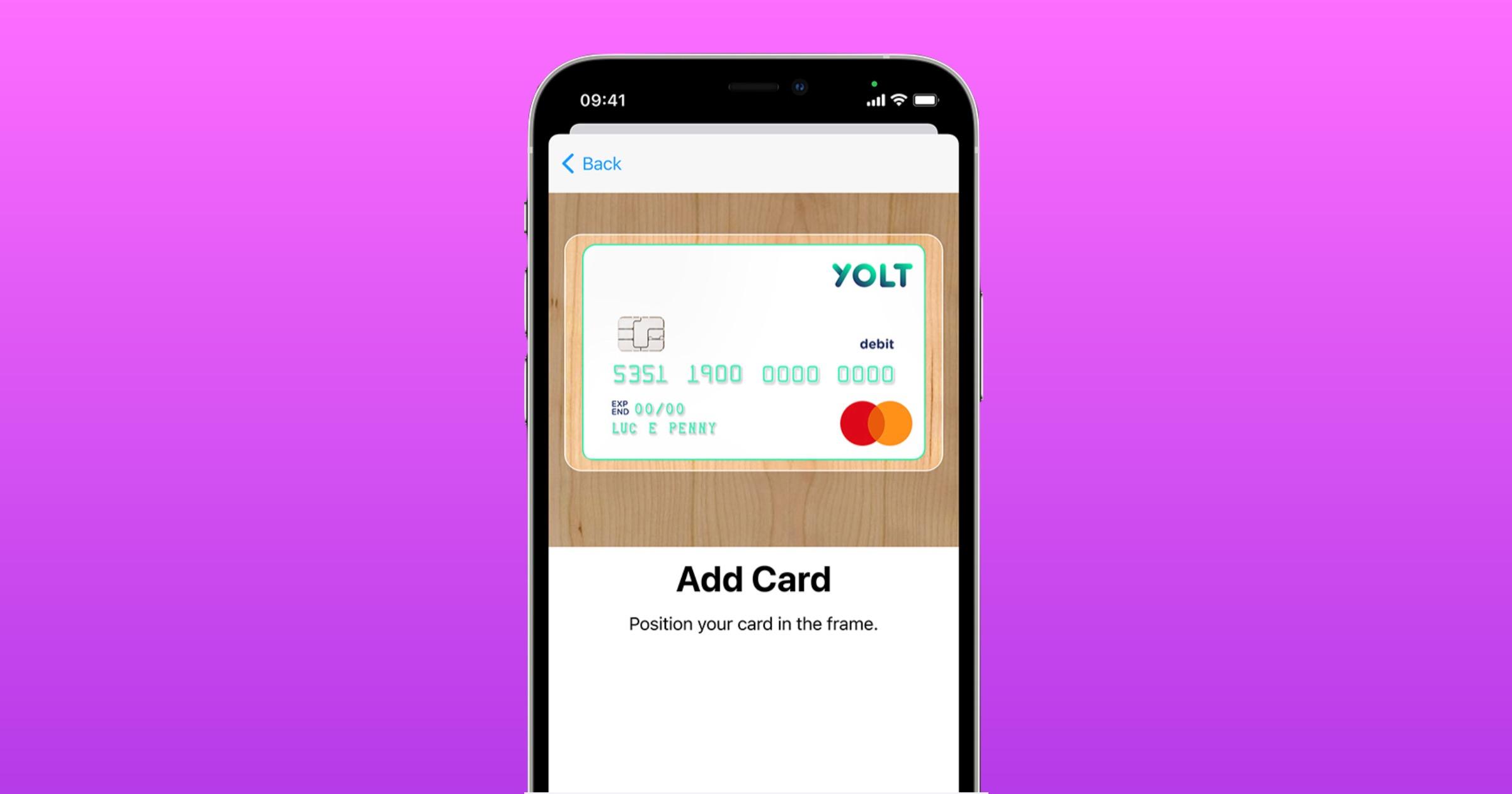 Yolt Apple Pay On an iPhone