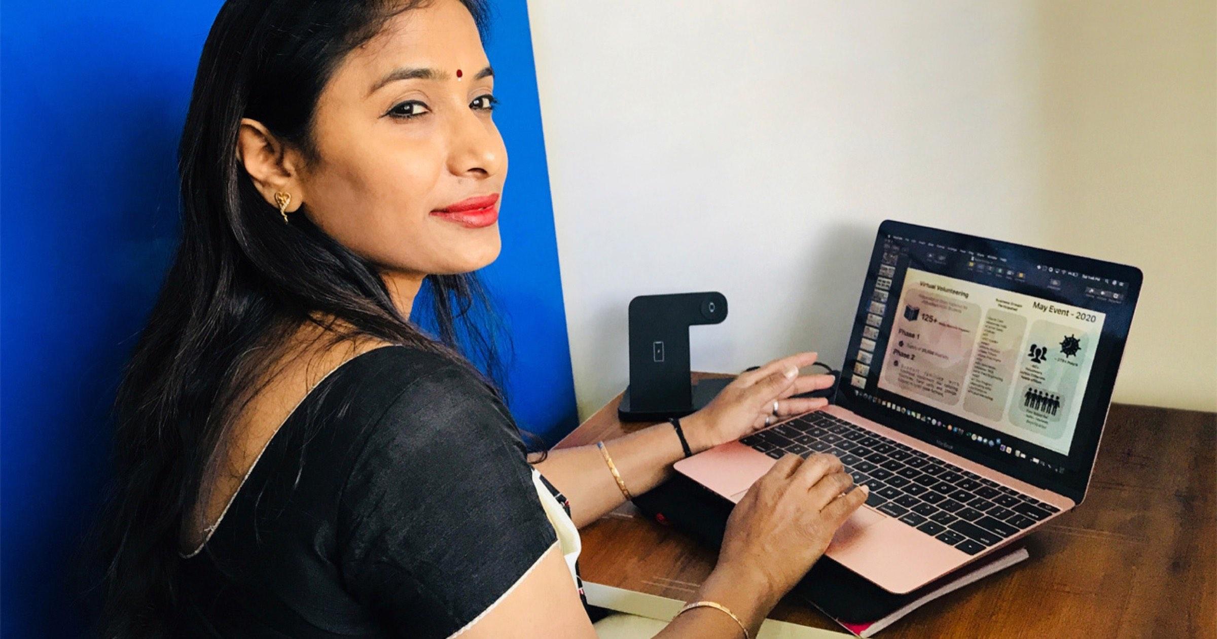 Apple employee Chandrika Raghunath