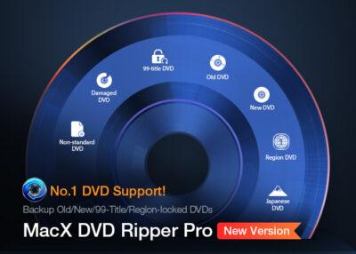 MacX DVD Ripper Pro Splash Screen