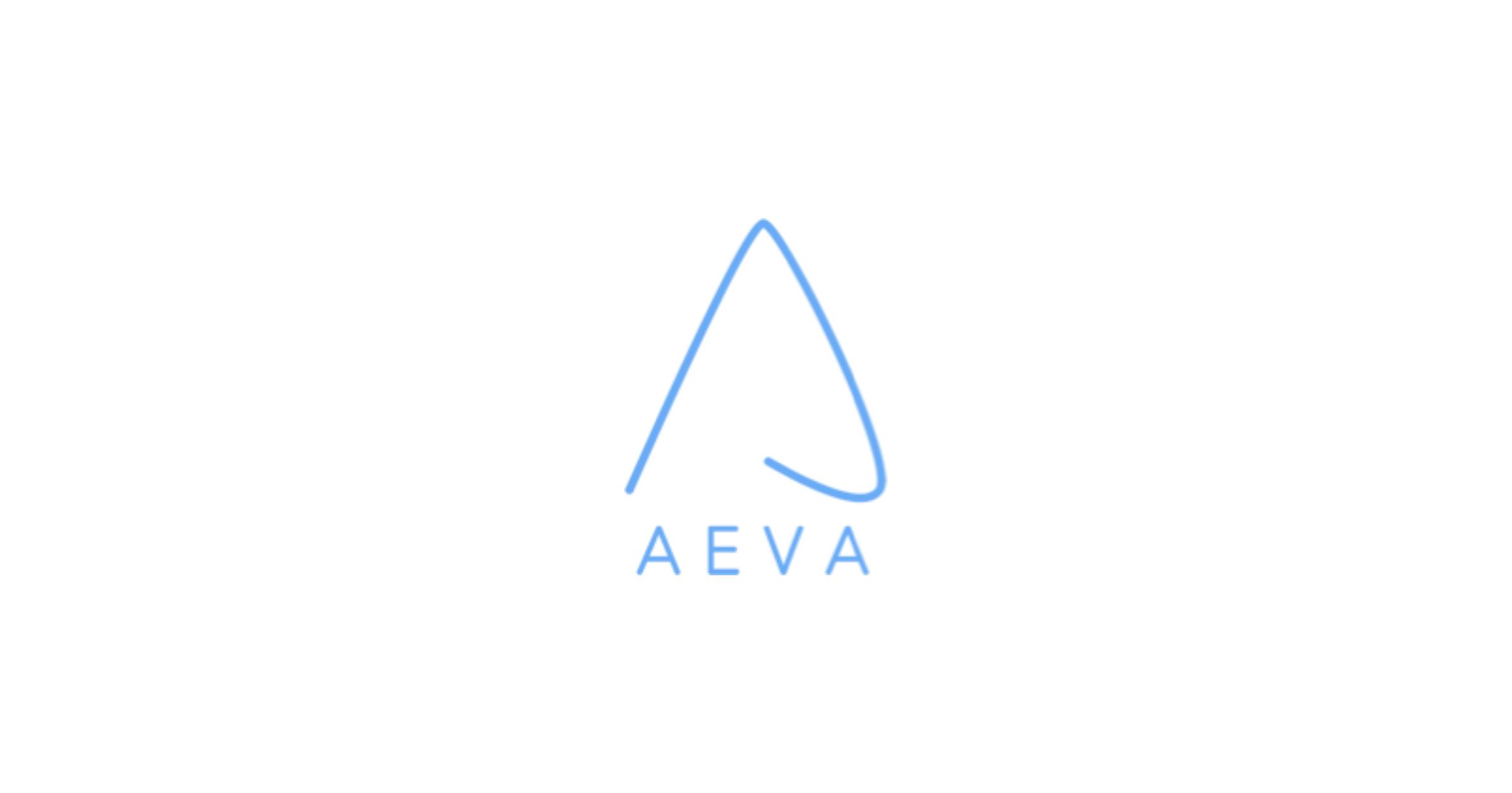 Aeva lidar maker logo