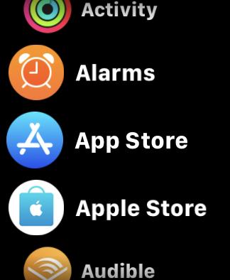 Apple Watch App List View Final