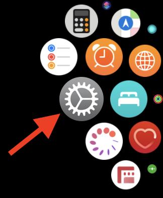 Apple Watch List View Settings