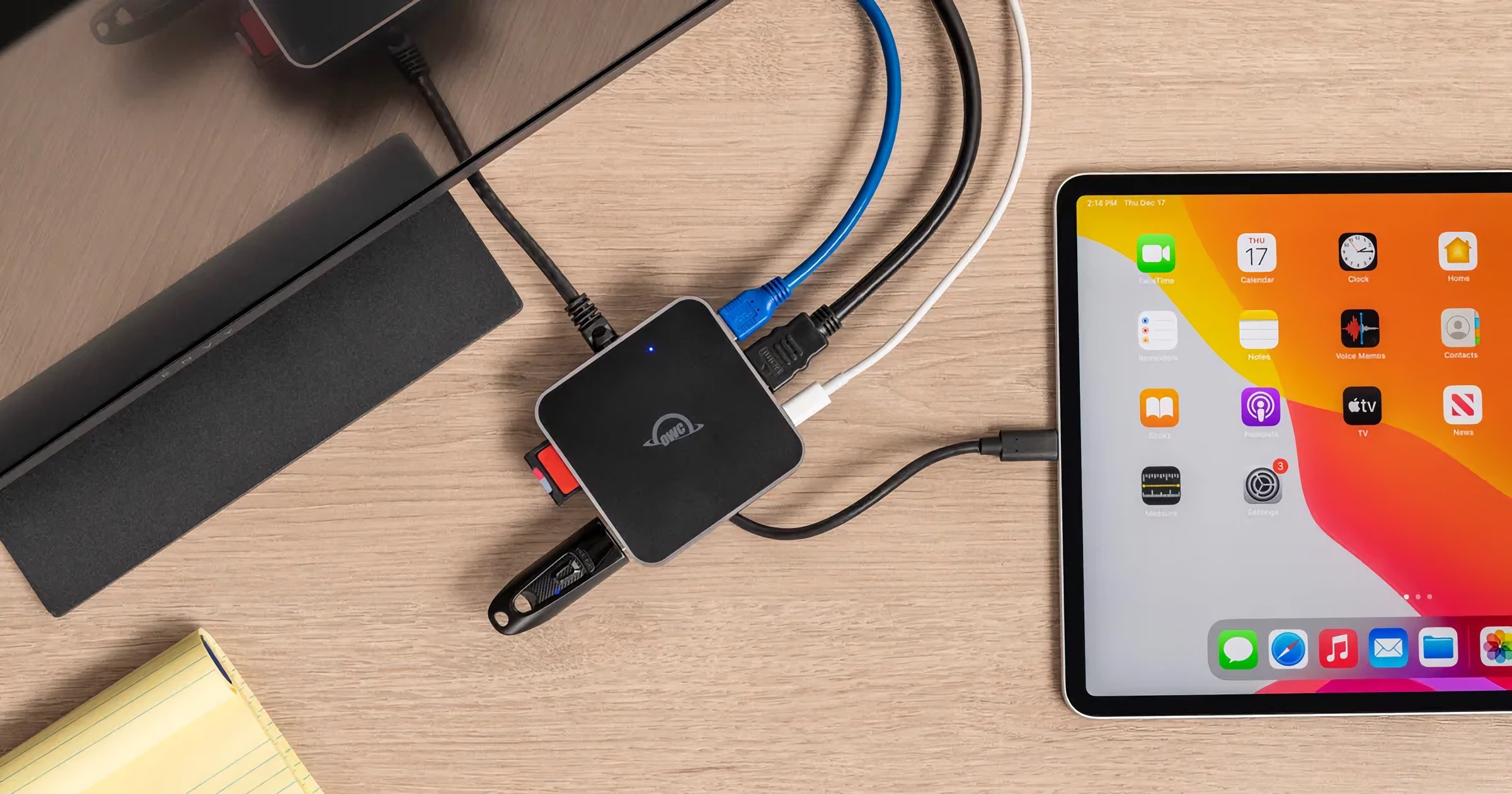 OWC Releases USB-C Travel Dock E With 6 Ports