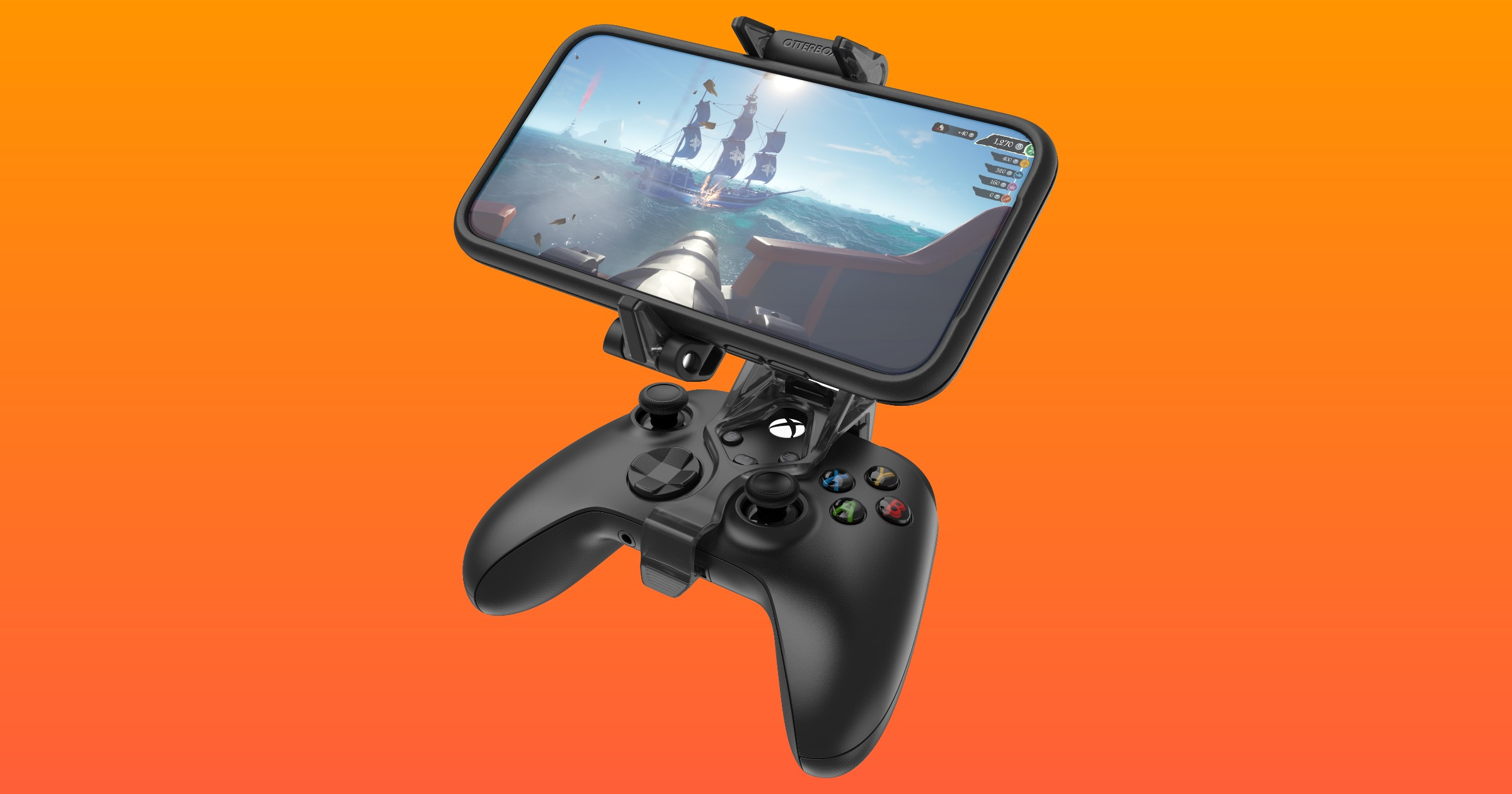 Otterbox gaming clip