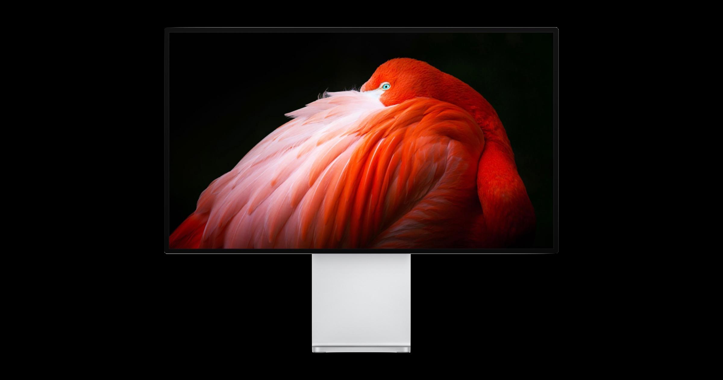 Pro Display XDR black background