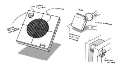 Tile UWB concept art