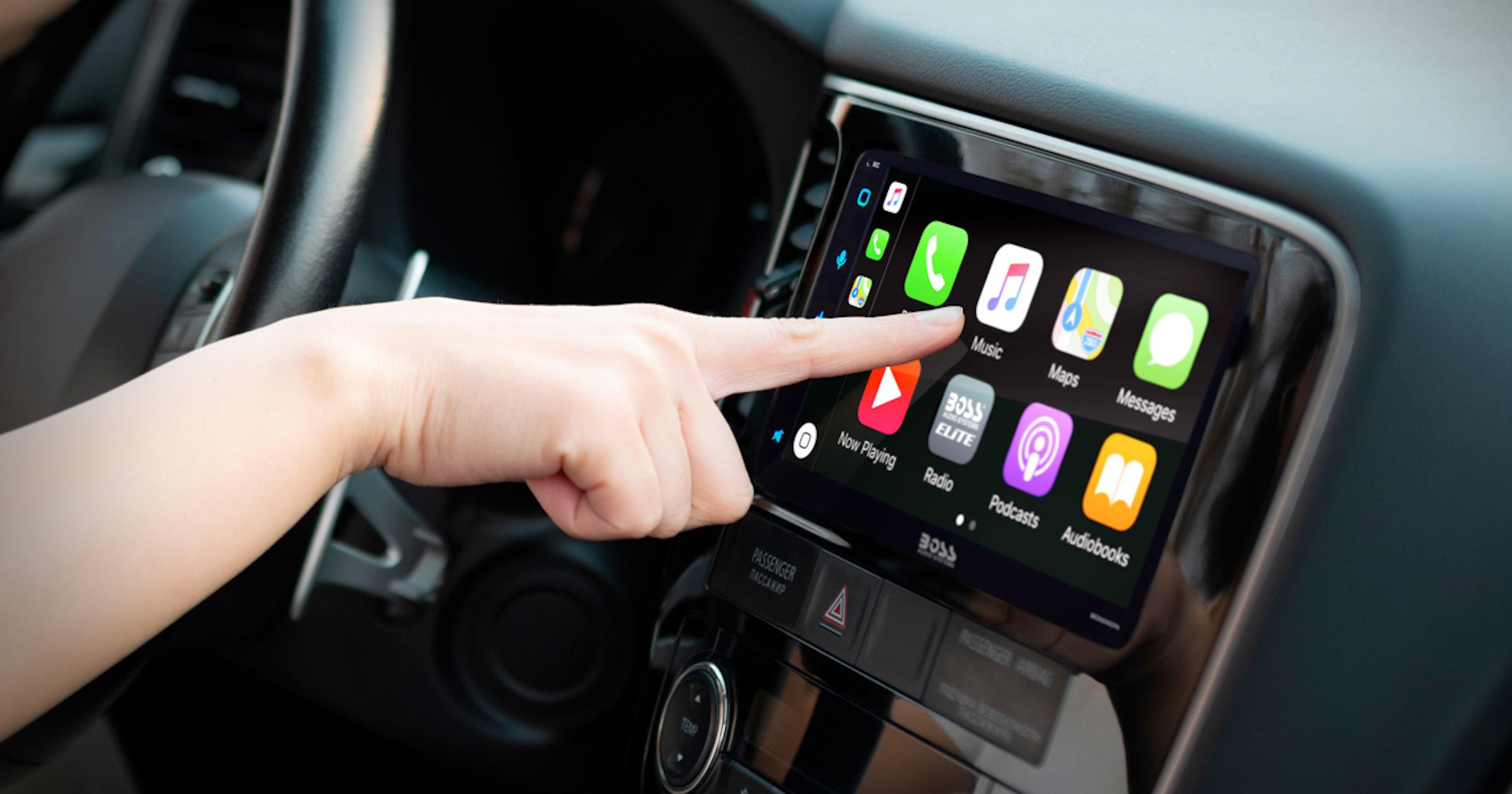 Wireless Apple CarPlay from BOSS Audio