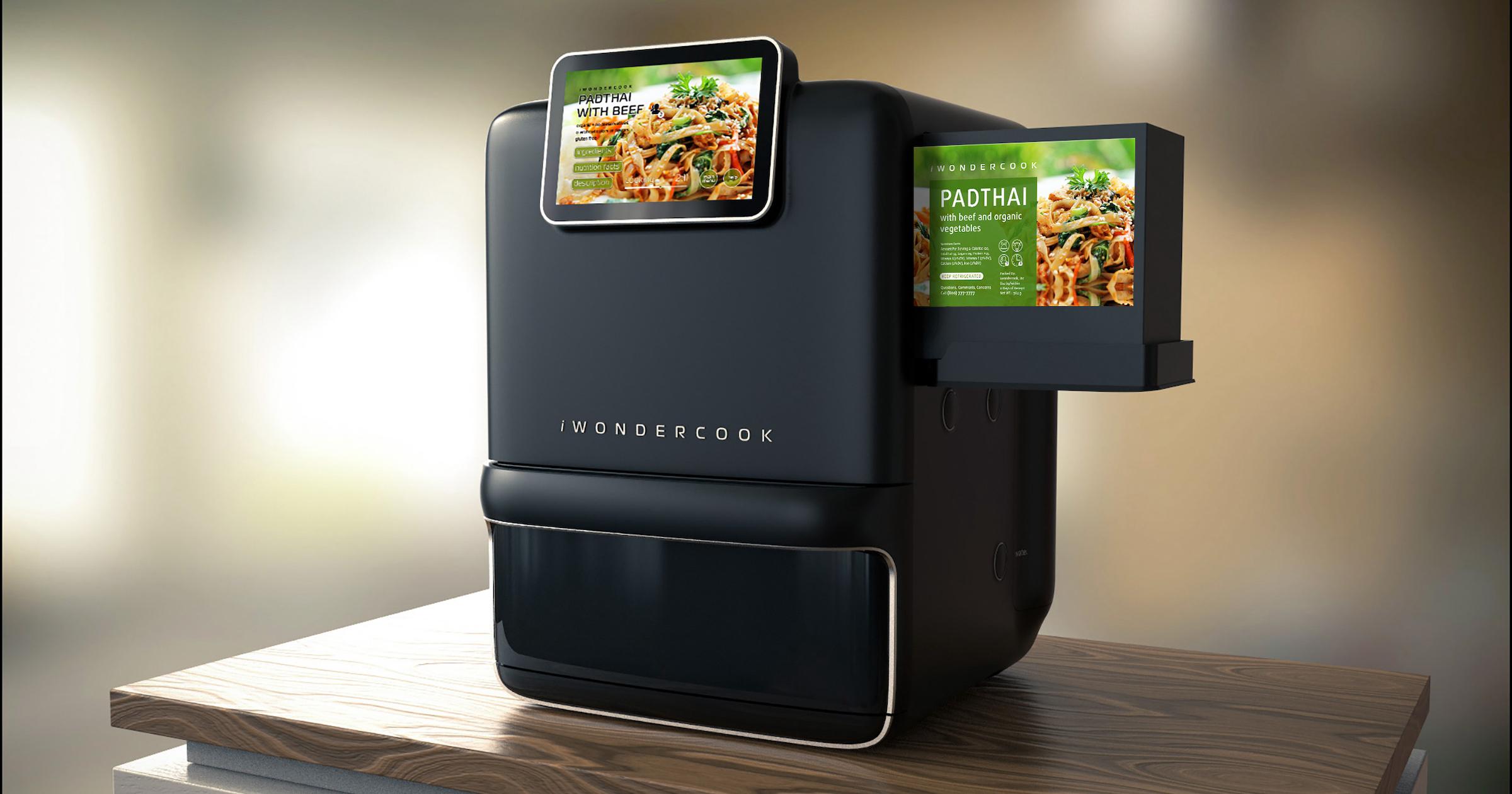 The iWondercook robotic chef