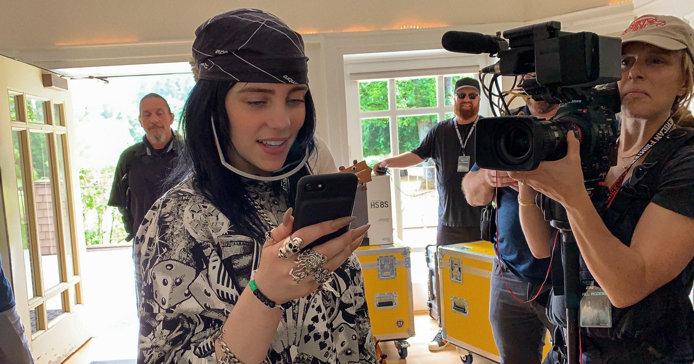 Billie eilish in documentary Apple TV+