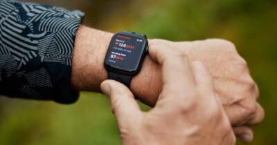 Bob march wearing Apple Watch